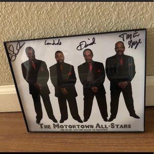 The Motortown All-Stars Framed Print